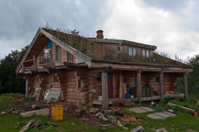 Деревянный дом Германа Стерлигова