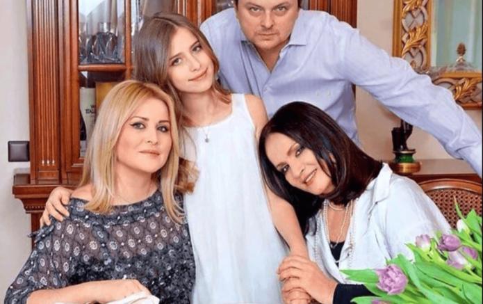 София Ротару с родными