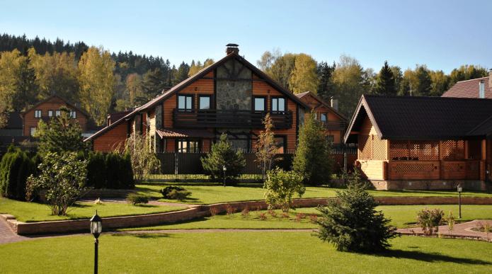 Дом в Успенском лесу