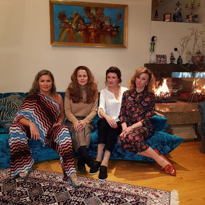 Анна Нетребко с гостями