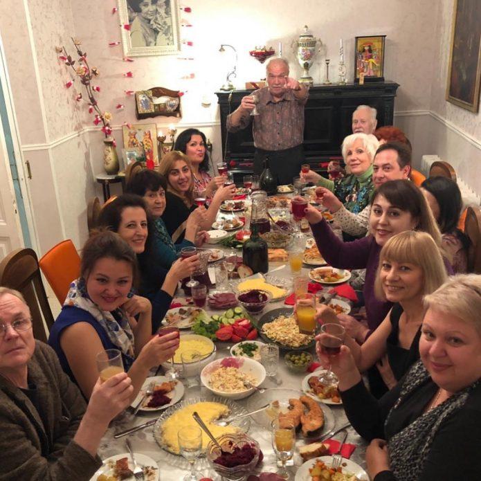Гости в доме Анны Нетребко