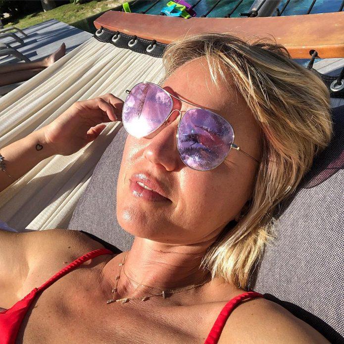 Юлия Бордовских на отдыхе