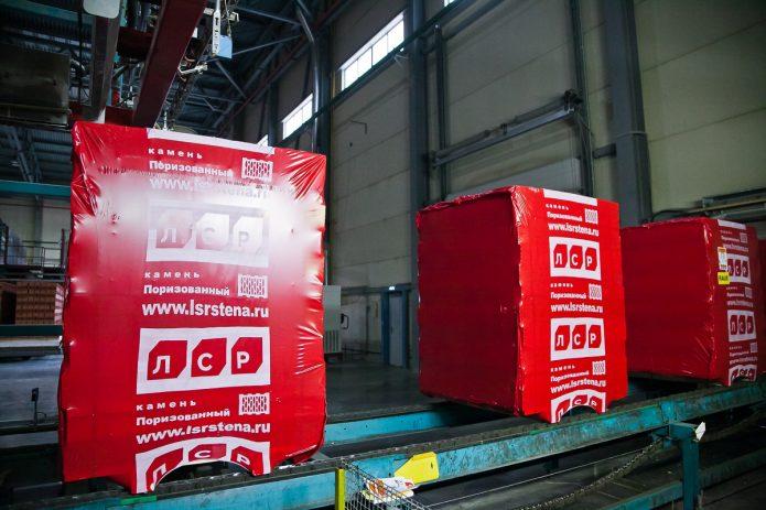 Производство на предприятии «ЛСР»