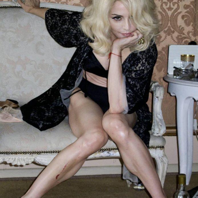 Мадонна в съёмном жилье в Португалии