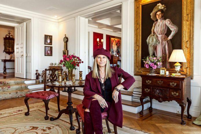 Барбара Стрейзанд в своём доме