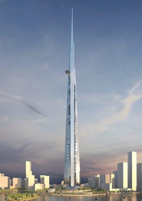 самые высокие строящиеся здания в мире