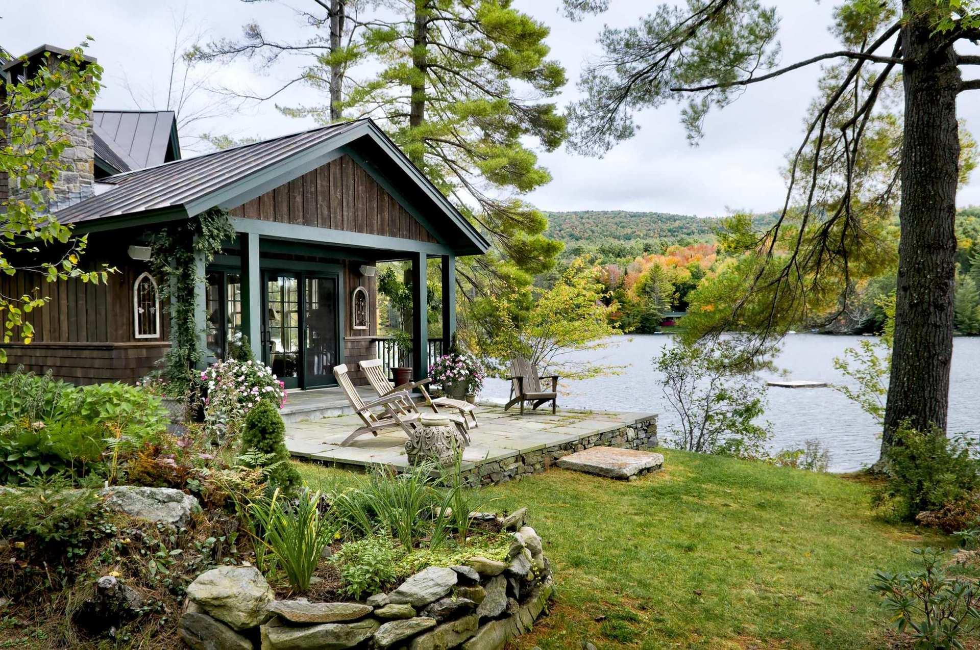Картинки, дом у озера картинки красивые