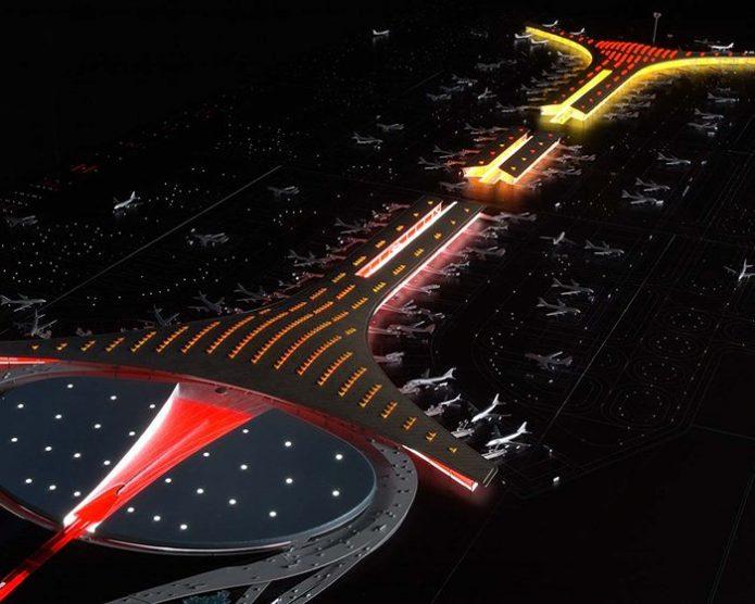 Новый терминал международного аэропорта