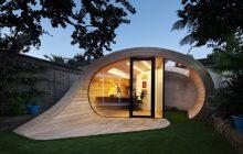 Необычный маленький дом