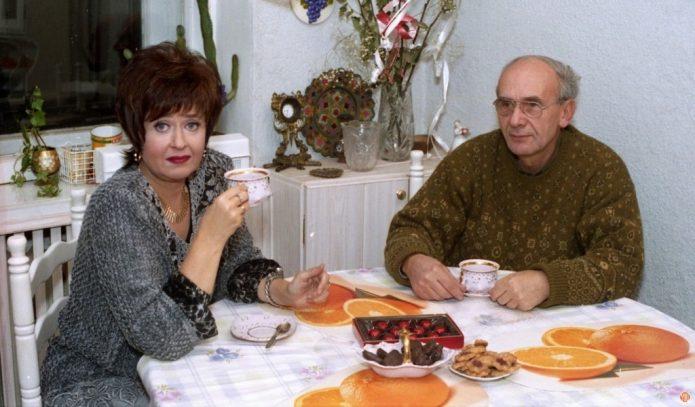 Регина Дубовицкая с мужем