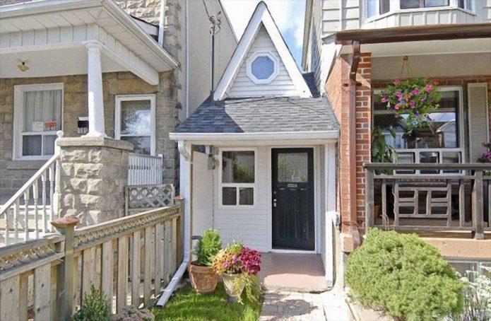 Миниатюрный дом в Торонто