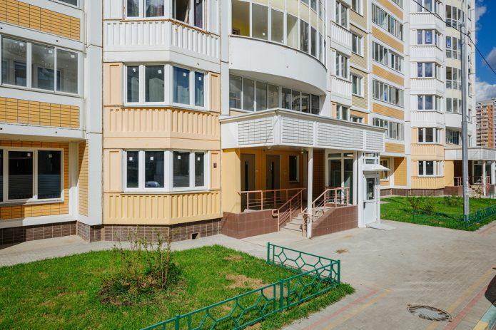 Квартиры на первом этаже