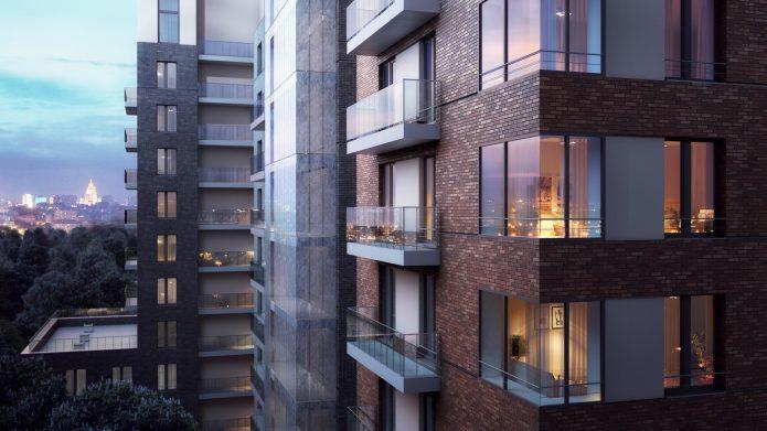 Квартиры на средних этажах