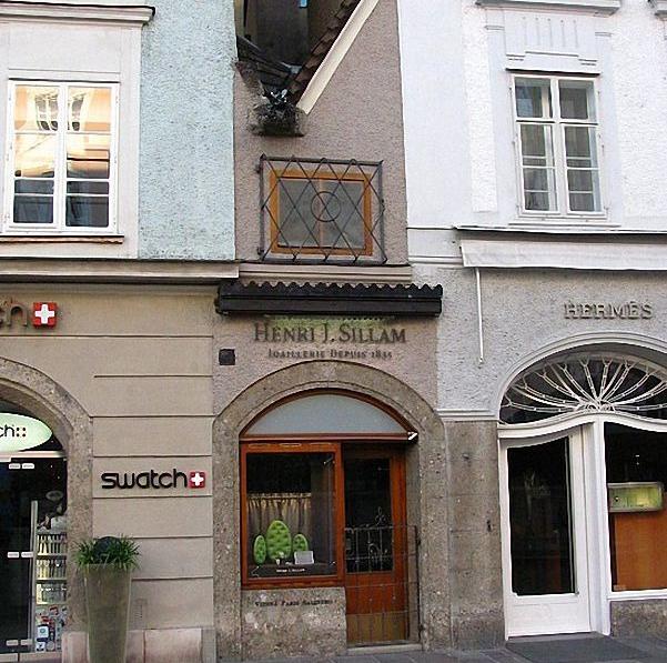 Маленький дом в Зальцбурге