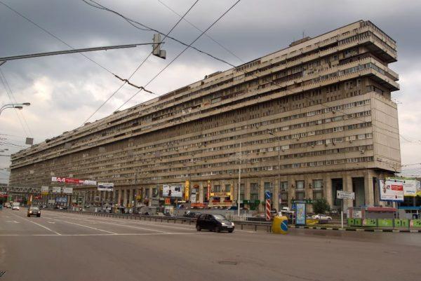Здание на Тульской