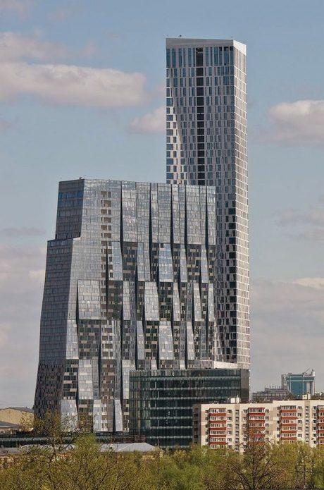 Здание на Мосфильмовской