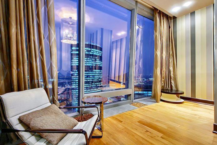 Шикарное жильё в самом высоком доме Москвы