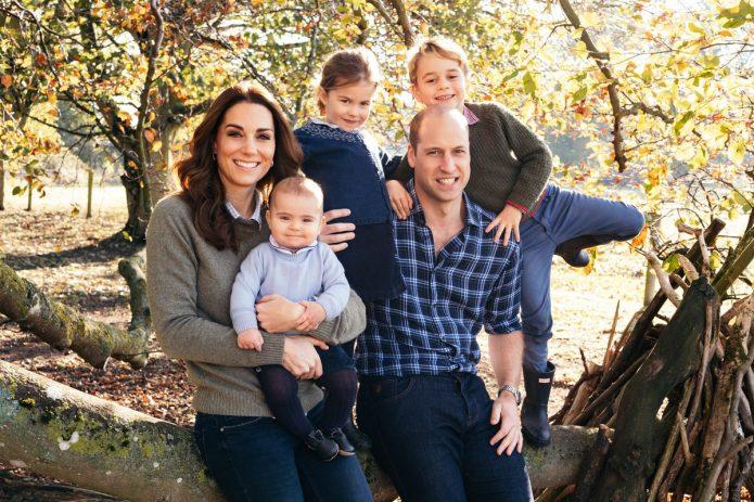 Принц Уильям с семьёй