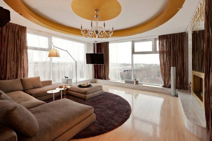 Угловая квартира с панорамными окнами