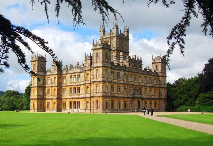 Бленхеймский дворец в графстве Оксфордшир