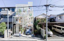 Прозрачный дом в Японии: жизнь напоказ